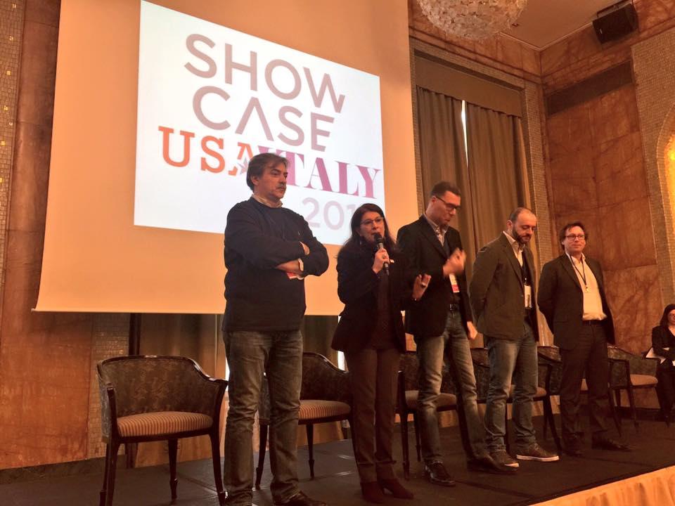 Showcase USA Italy 2016, il direttivo con il Presidente Olga Mazzoni