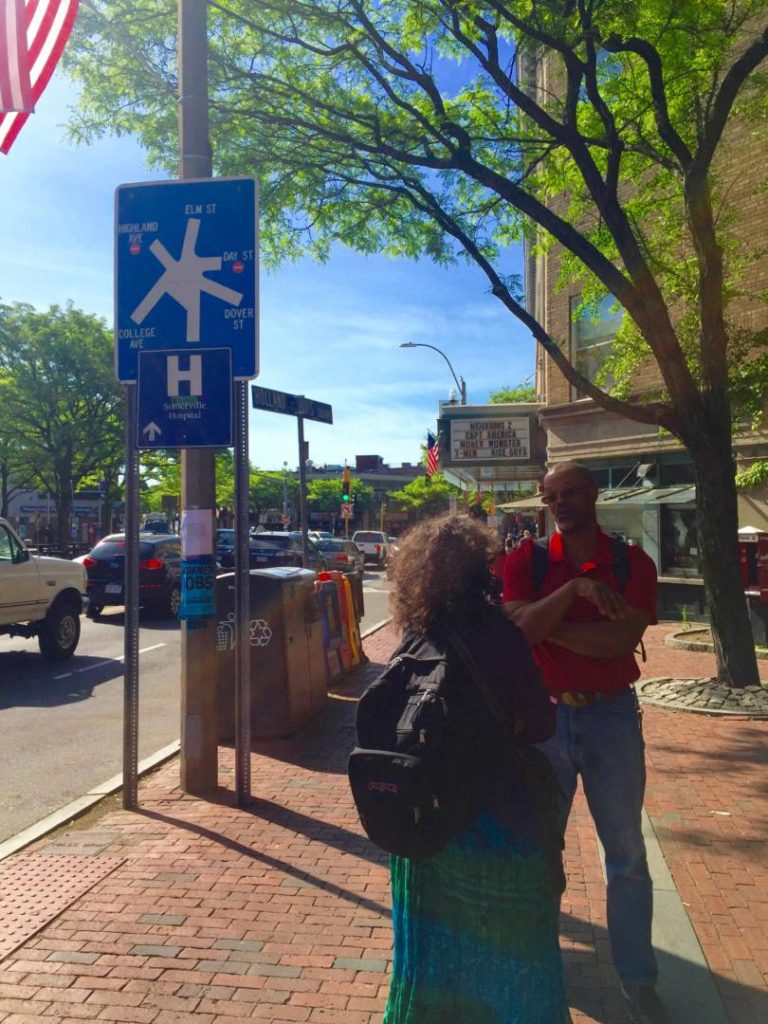 What to see in Boston: Somerville, date in Davis Square