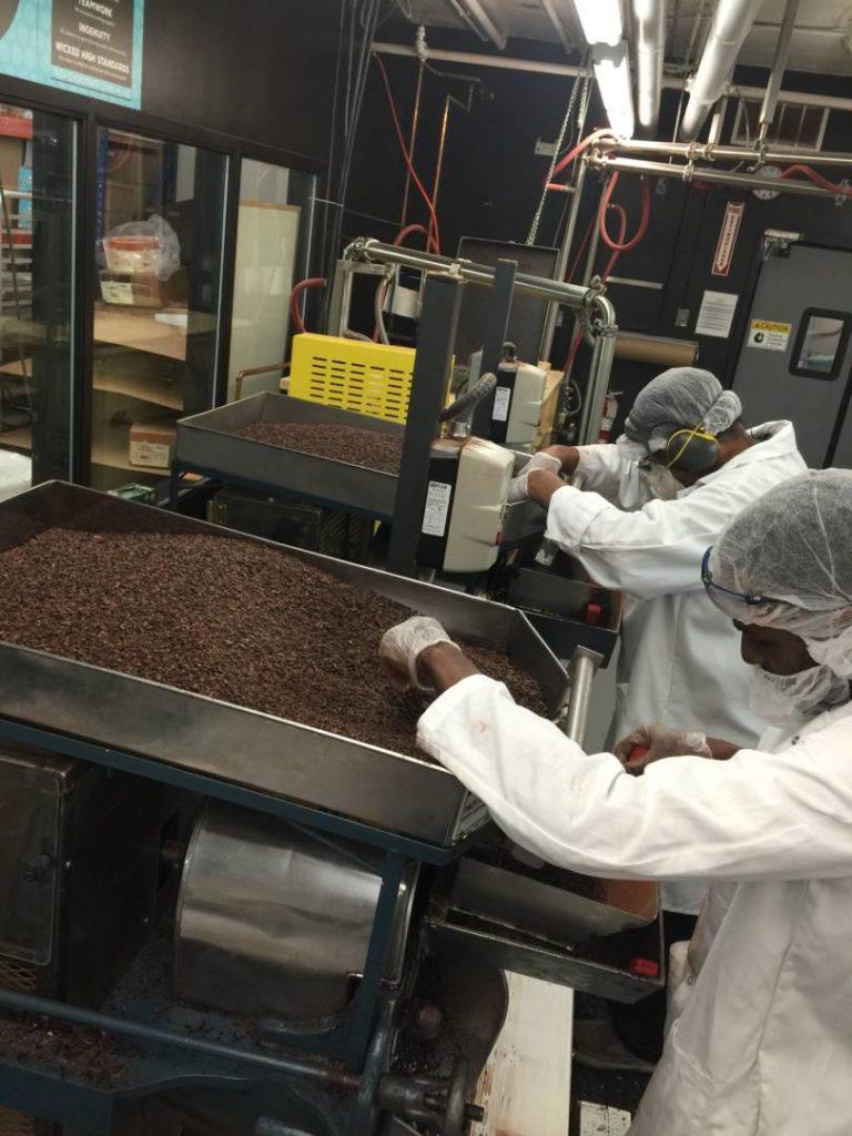 TAZA Chocolate Factory, production