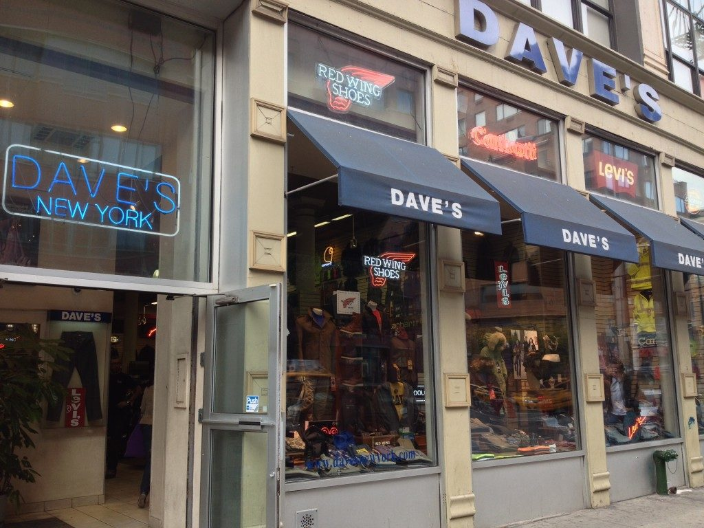 Dave's, New York