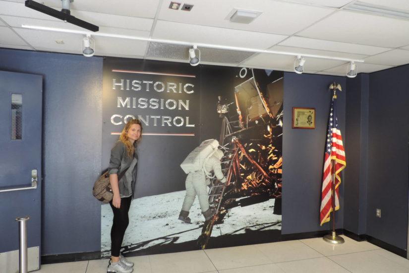 Houston Space Center, l'accesso alla sala comandi di Apollo 13