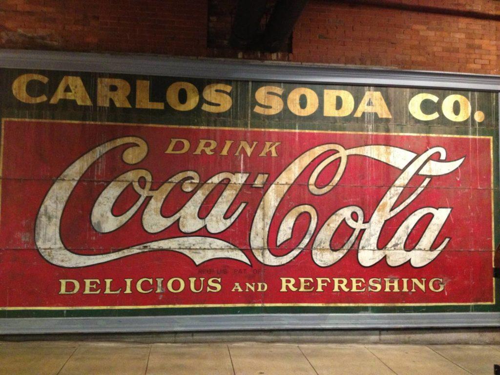 Cosa vedere ad Atlanta: graffiti vintage nell'Underground Atlanta