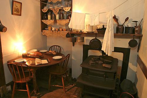 Tenement Museum, la cucina della famiglia Gumpertz