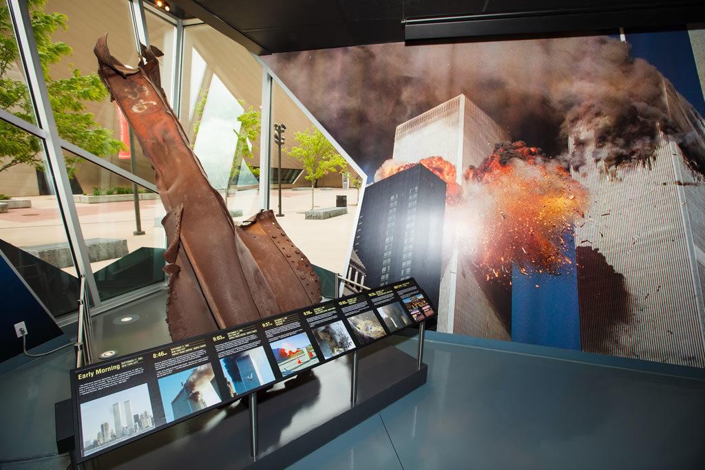 The Cell, il traliccio delle Twin Towers donato dalla città di New York