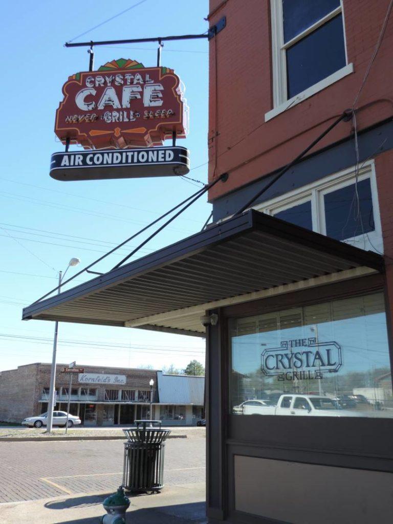 Crystal Cafè, Greenwood. Where you can eat Minnie's chocolate pie