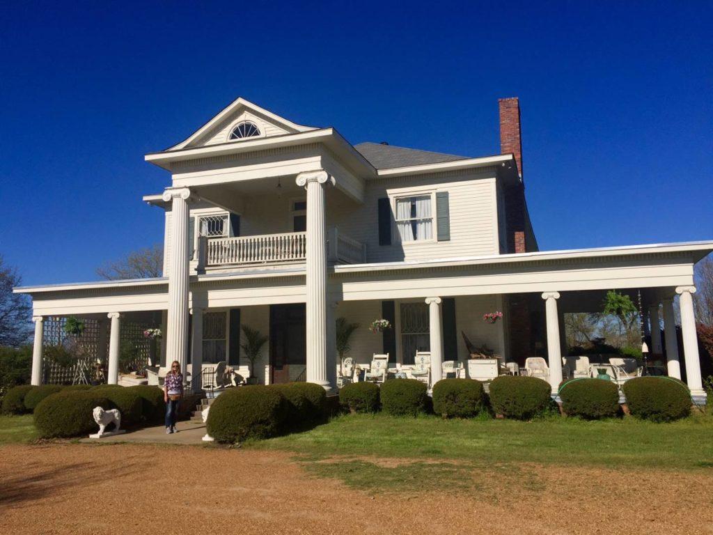Mississippi on the road: Whittington Farm, Skeeter House