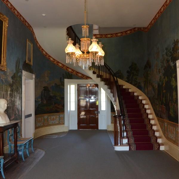 The Hermitage, l'ingresso della dimora padronale (ph. credits thehermitage.com)