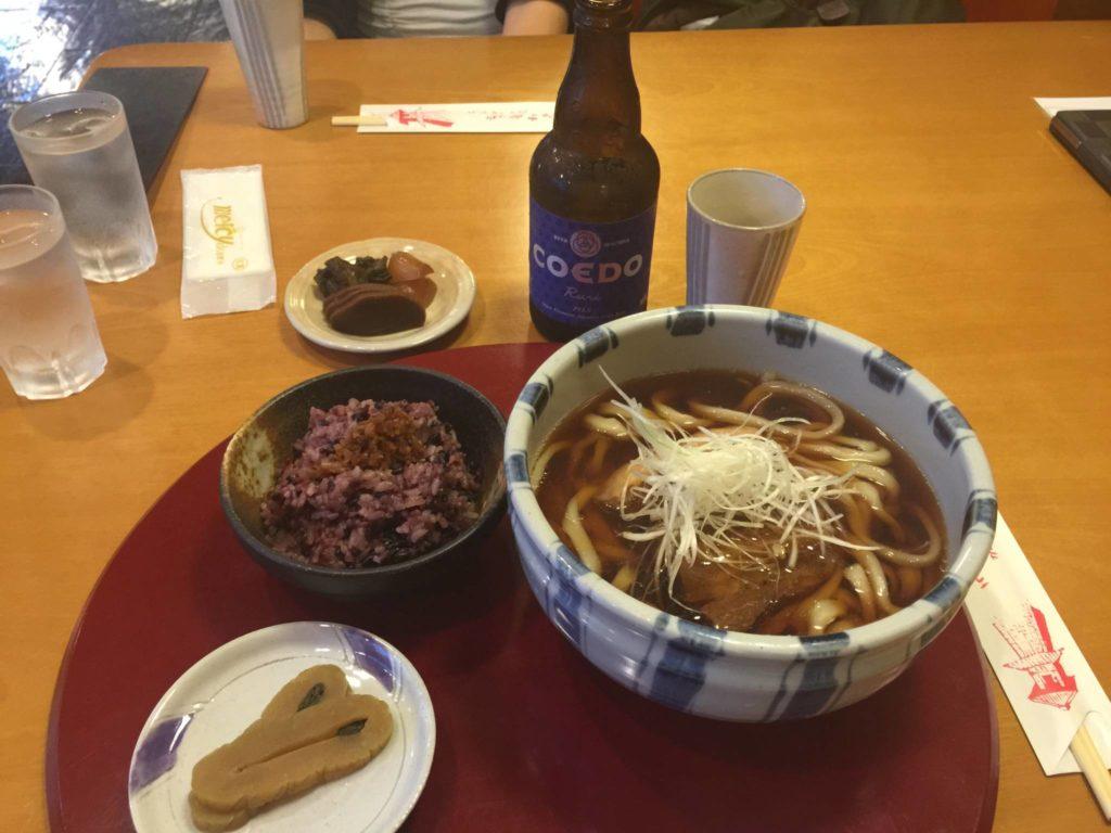 Pranzo a Kawagoe
