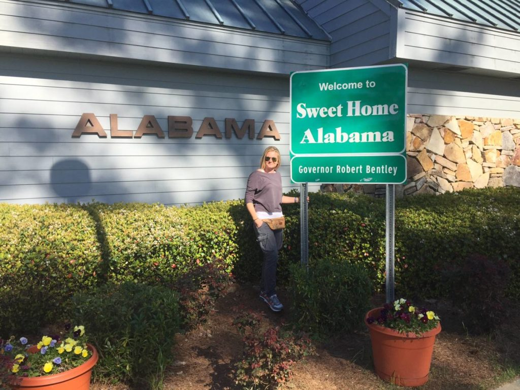 USA on the road: Welcome to Alabama