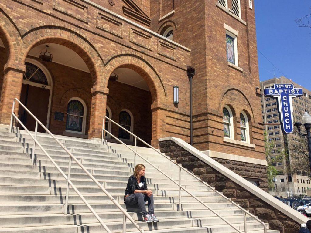 On the road nel Sud USA: 16th street Church, Birmingham, Alabama