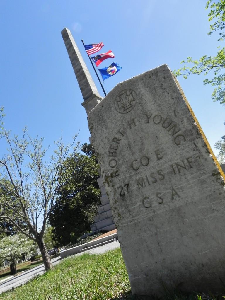 Oakland Cemetery, le tombe delle vittime della Guerra Civile