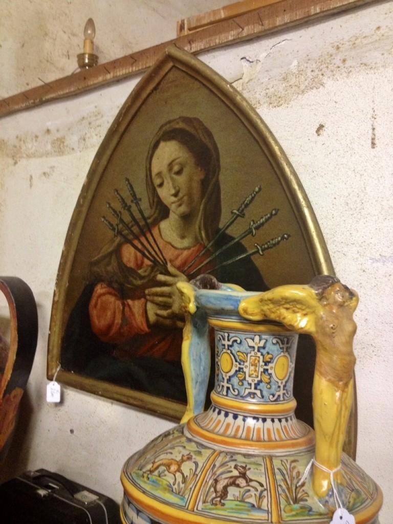 """Le """"arti"""" di Urbania, l'antiquariato e la ceramica"""