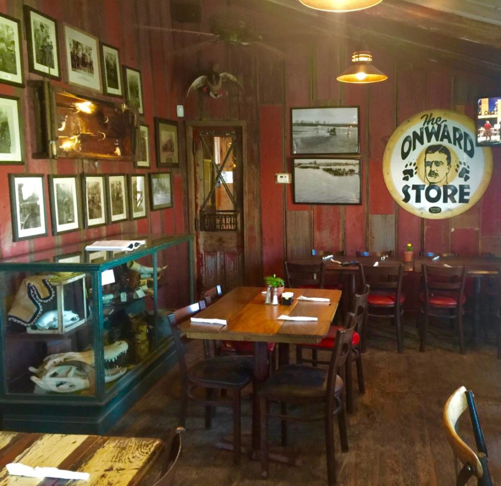 The Onward Store, the restaurant