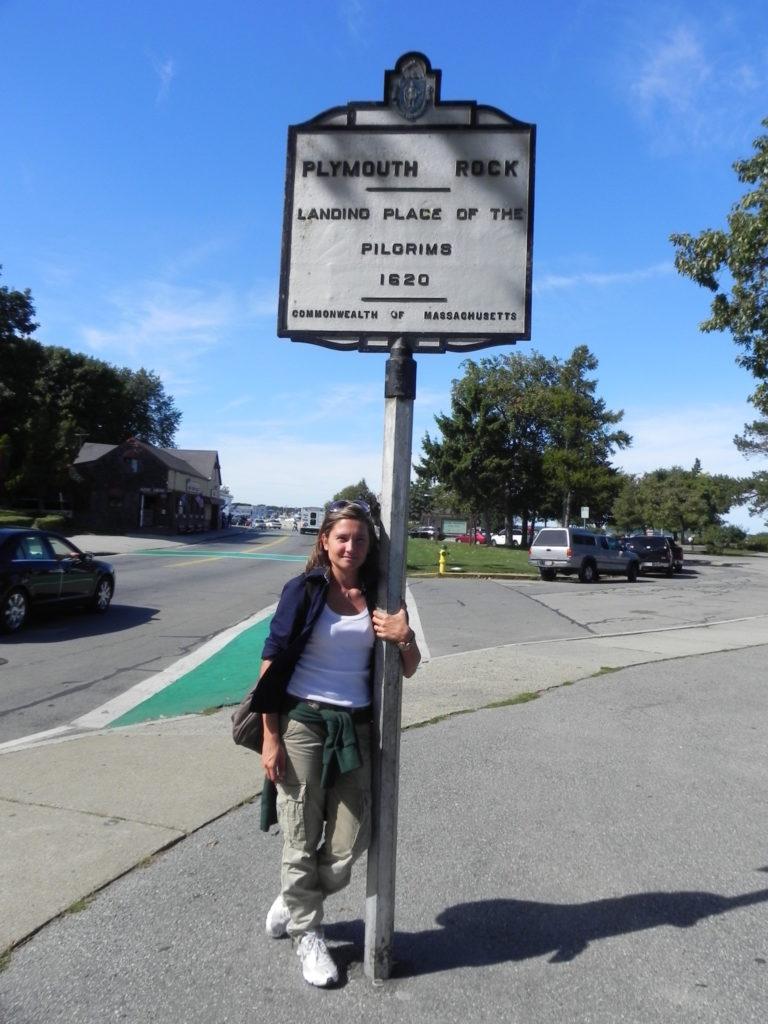 Plymouth Rock, il cartello commemorativo