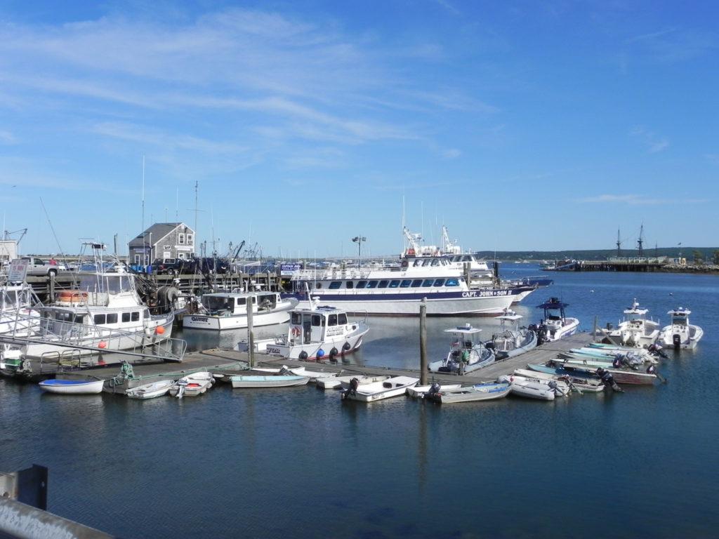 Il grazioso molo di Plymouth