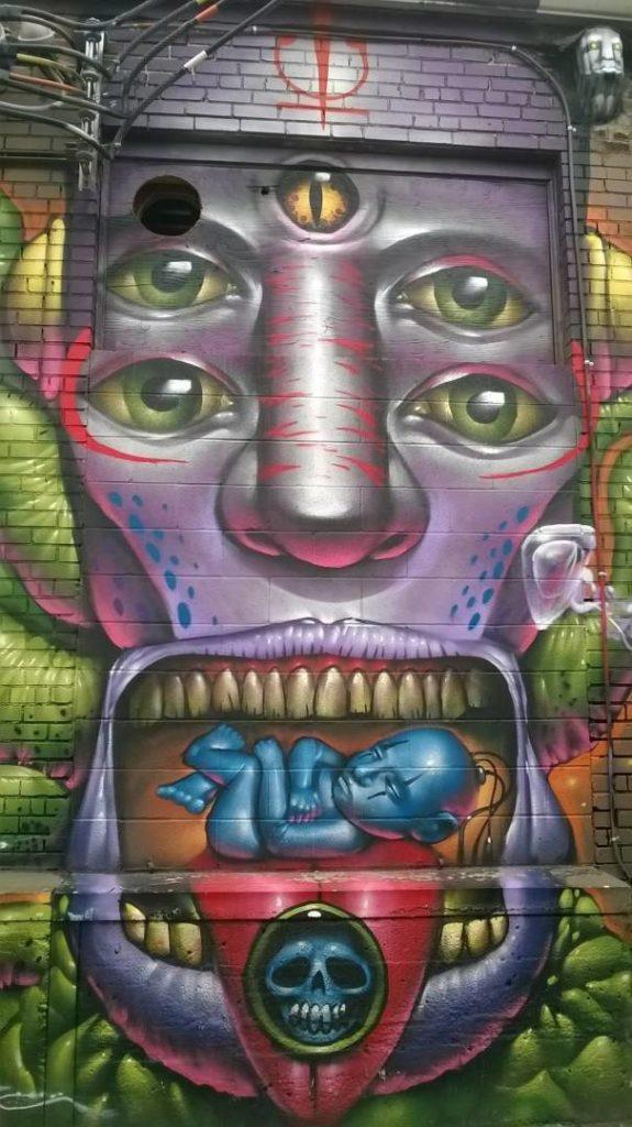 Scoprire Denver: murales a RiNo