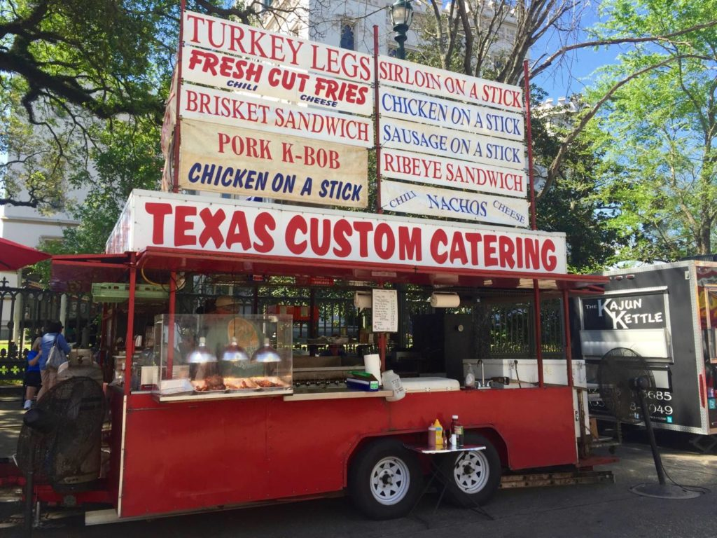 Visit Baton Rouge: Food Truck during the Art and Music Festival