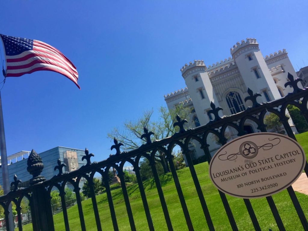 Visit Baton Rouge: the Old State Capitol