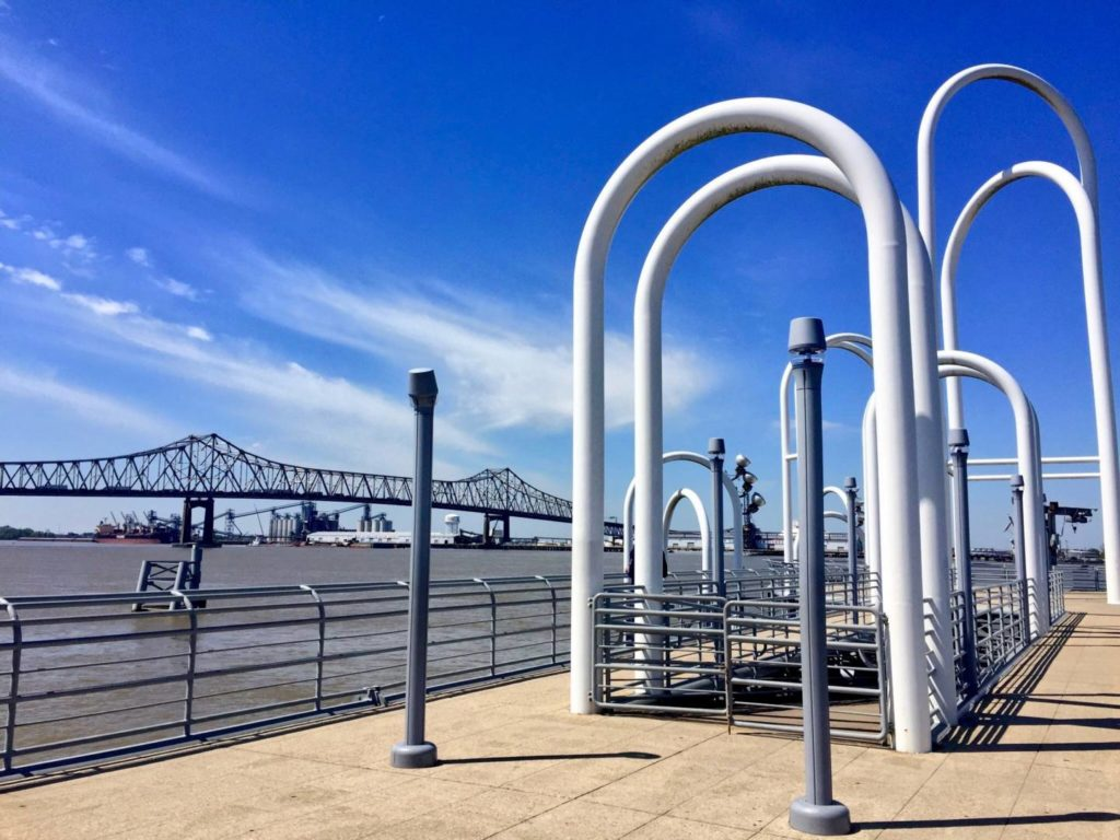 Visit Baton Rouge: views on the Mississippi River