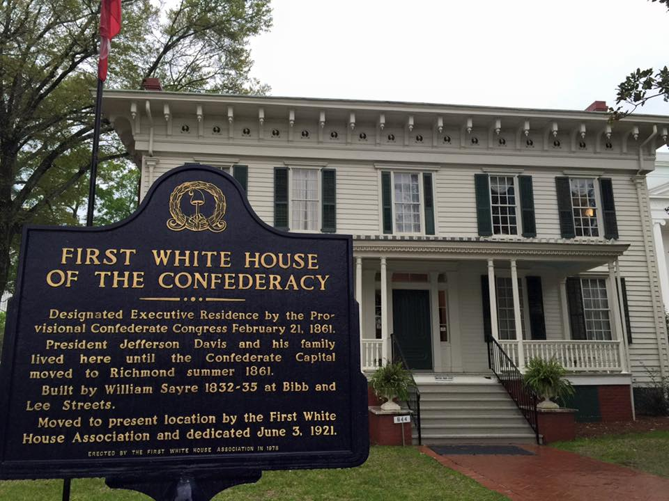 Discover Montgomery: the first White House of the Southern Confederate States