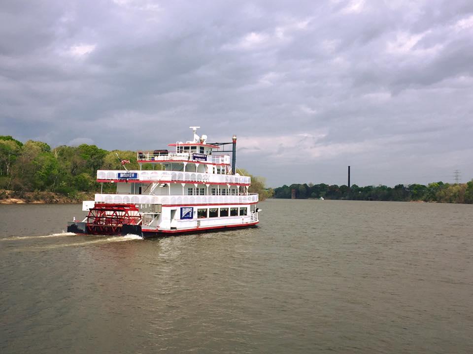 In battello a vapore sull'Alabama River