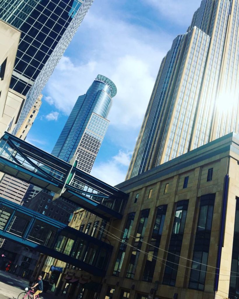 Discover Minnesota: Minneapolis seen by the Nicolette Mall