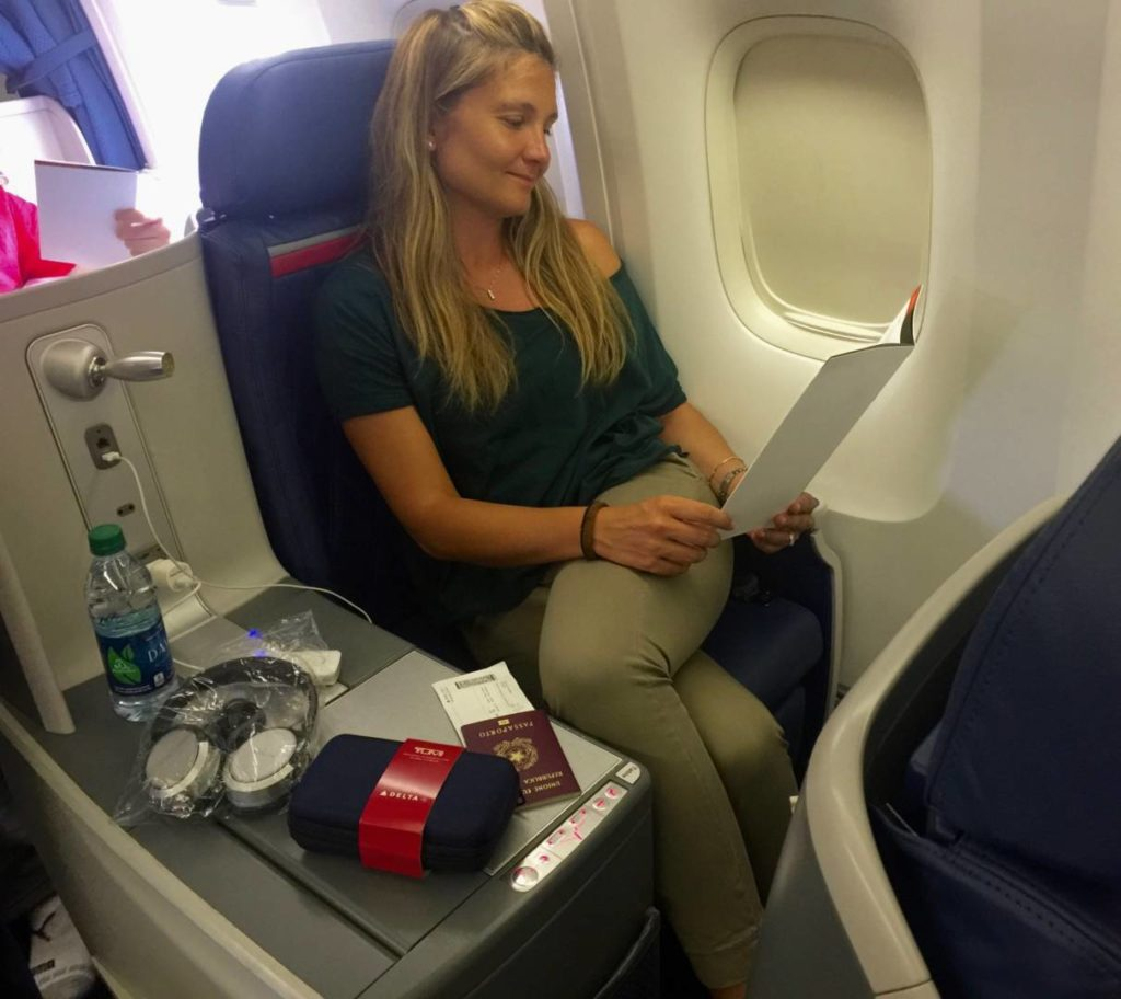 Fly with Delta in Delta One