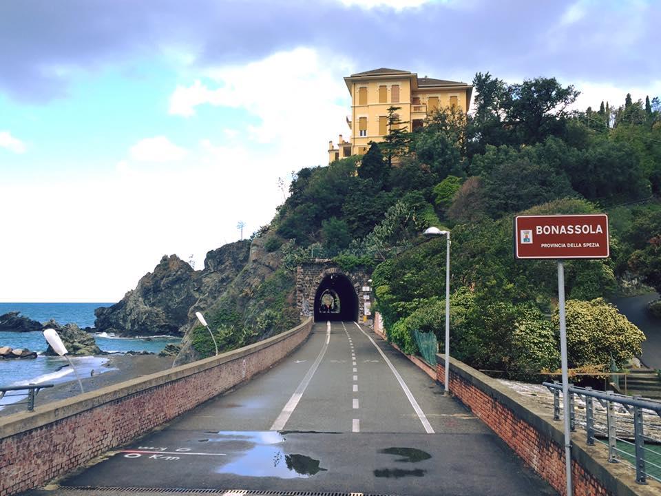 La Ciclopedonale Mari e Monti verso Bonassola