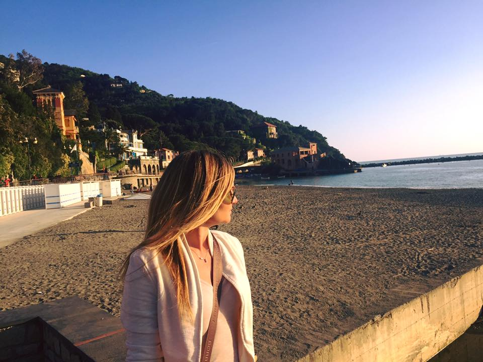 Weekend a Levanto, tramonto sulla spiaggia