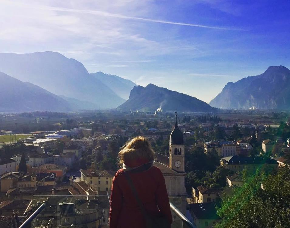 Weekend nel Garda Trentino: Arco vista dalla Rilke Promenade