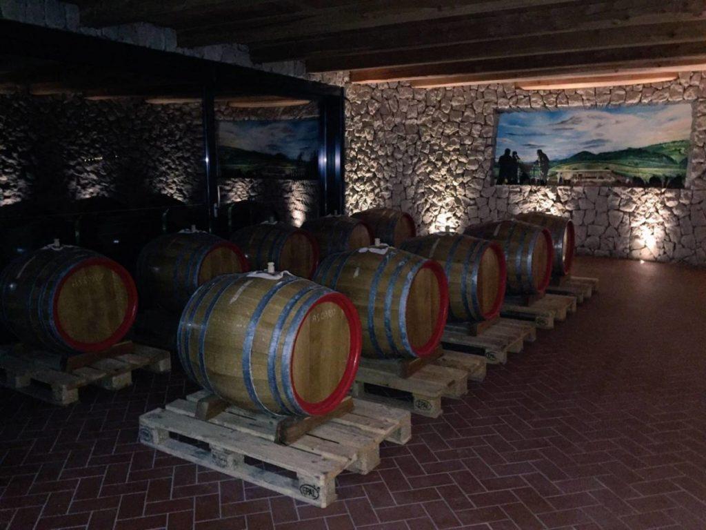 Acetaia del Balsamico Trentino, la sala delle botti