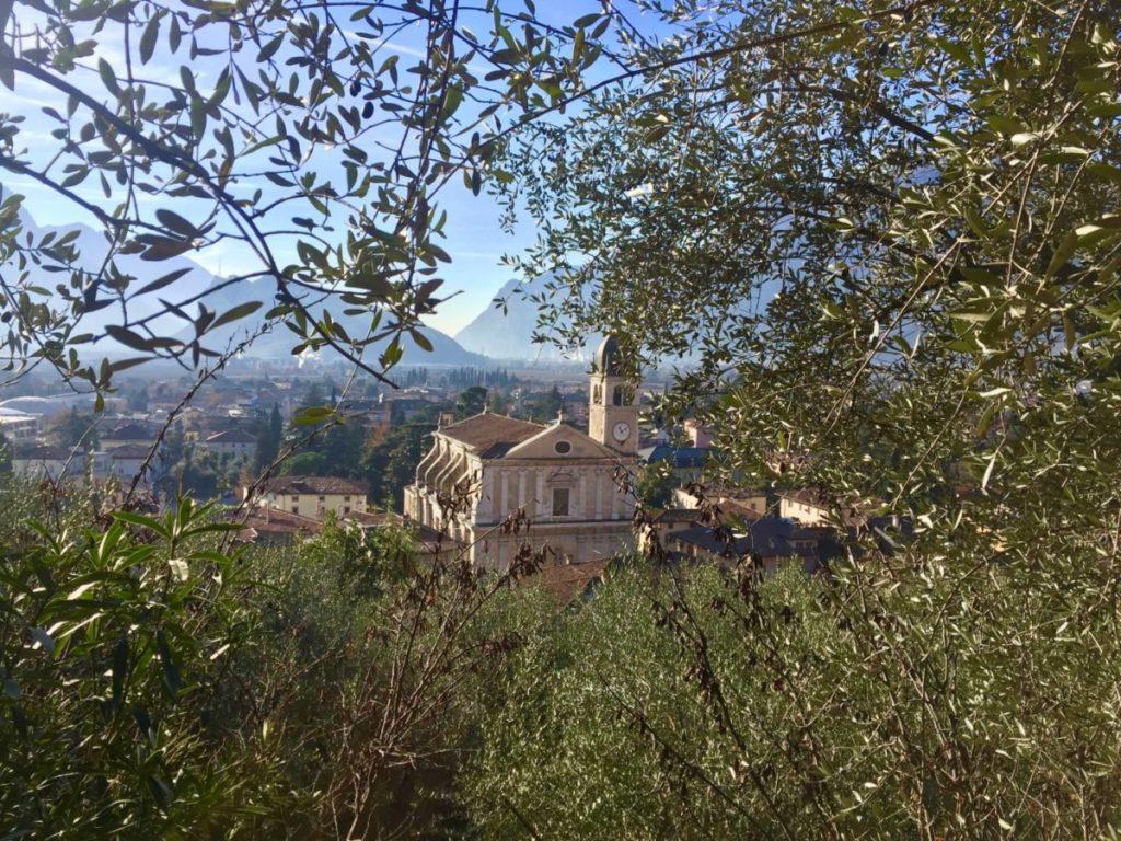 Weekend nel Garda Trentino: Arco vista dall'Olivaia