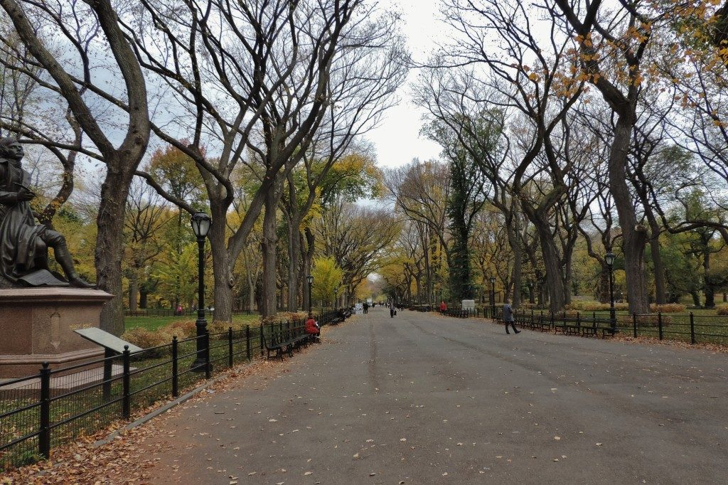The Literary Walk, Central Park