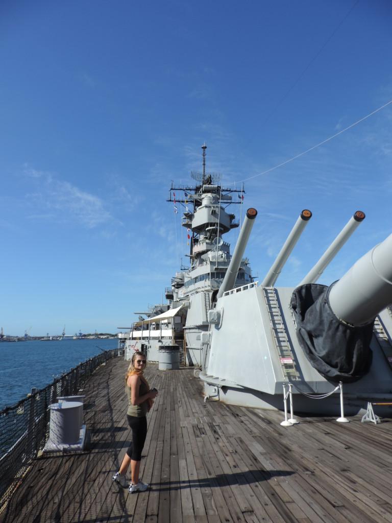 La USS Missouri, Pearl Harbor, Hawaii