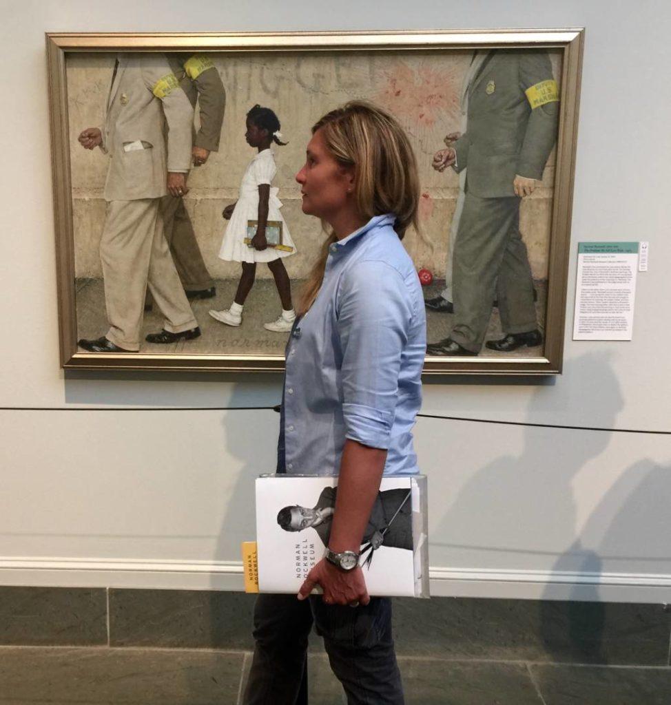 """Viaggio negli Stati Uniti: """"The Problem We All Live With"""", Stockbridge, Norman Rockwell Museum"""
