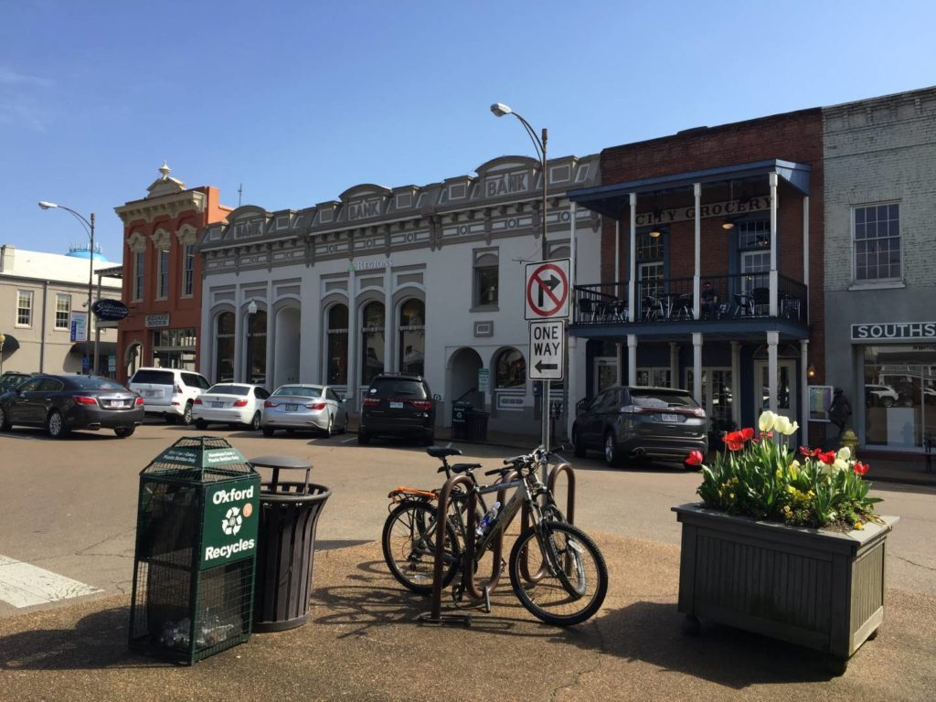 USA on the Road: Oxford Mississippi