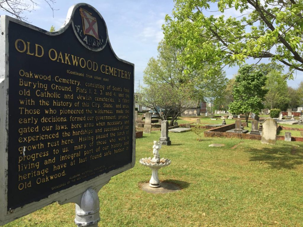 Visitare Montgomery: Old Oakwood Cemetery