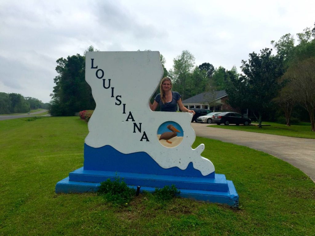 USA on the road: welcome to Louisiana