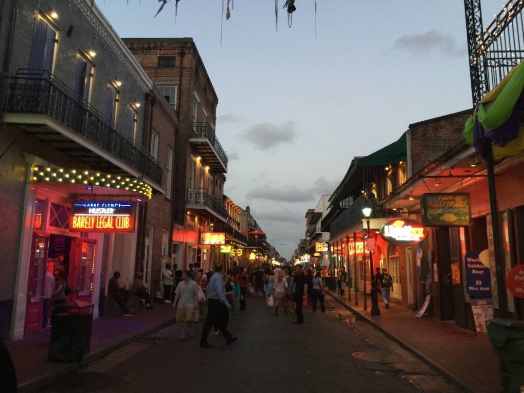 Scoprire New Orleans: serata in Bourbon Street