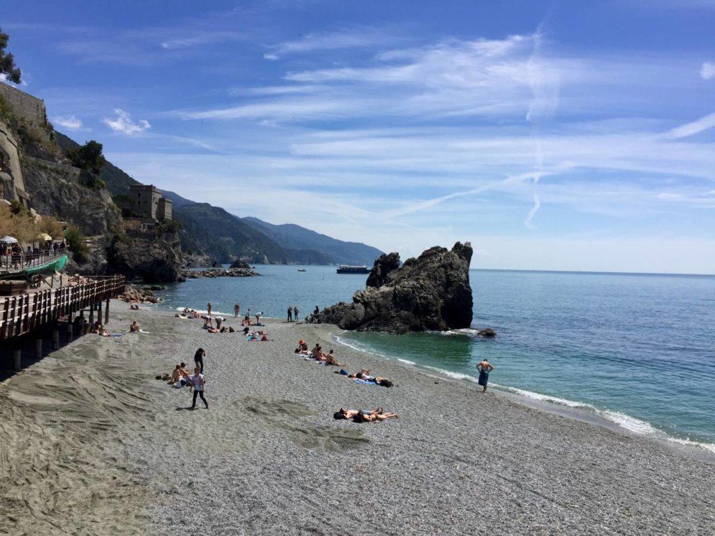 Weekend a Levanto: la spiaggia di Monterosso