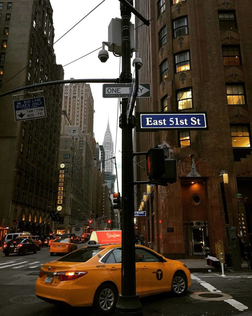 The Lexington between the 52nd and the 51st Street
