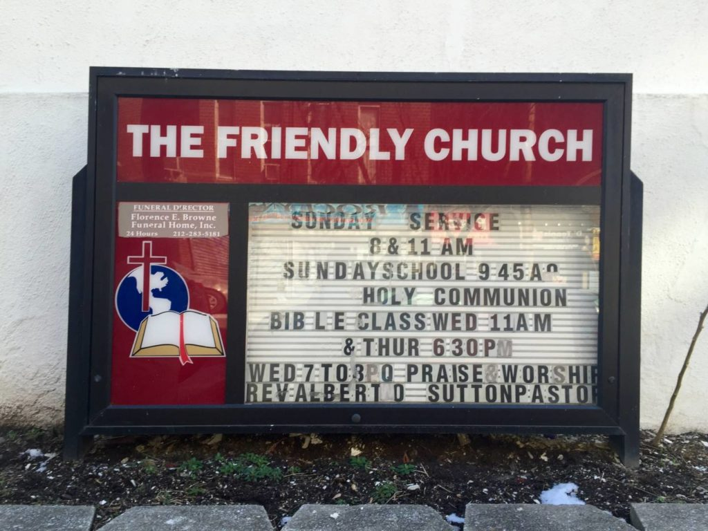 The Friendly Church