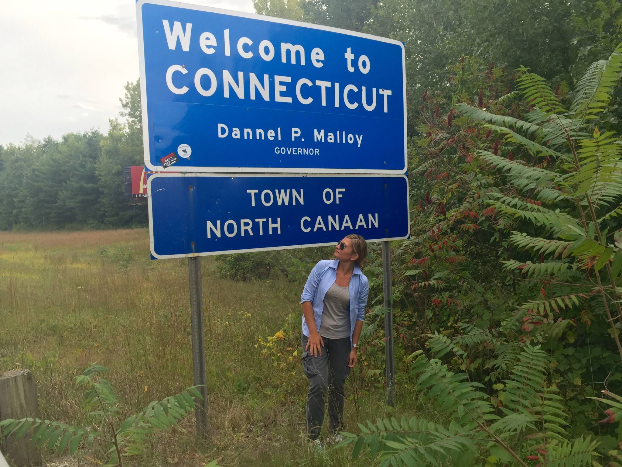 New England on the road