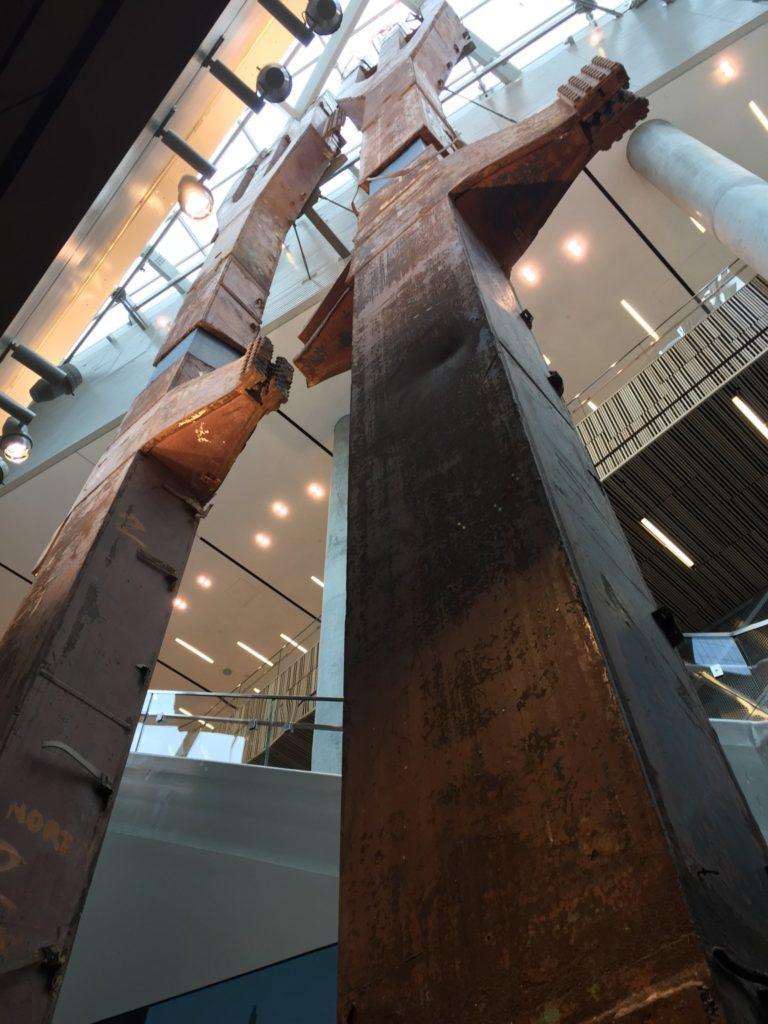 Visit the 9/11 Memorial Museum, the inside