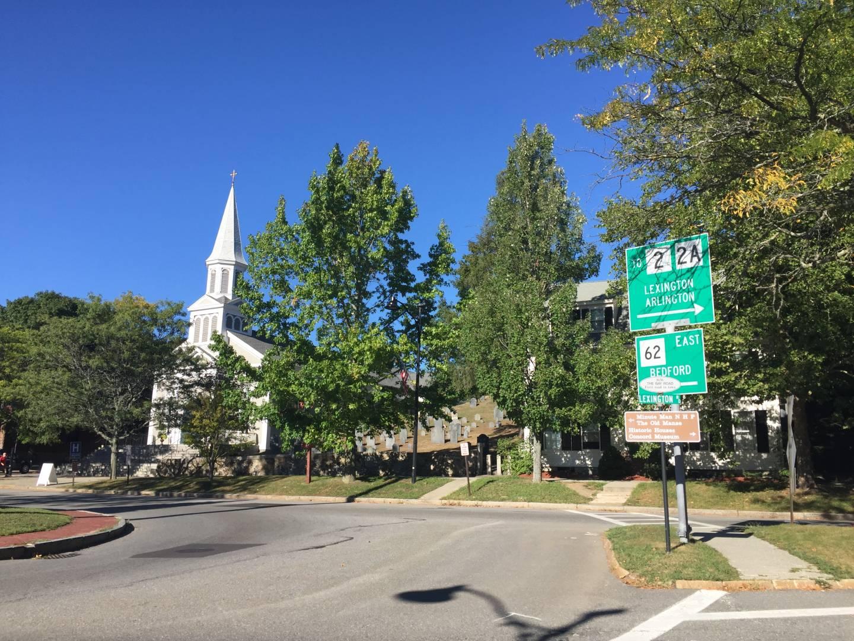 Concord, views