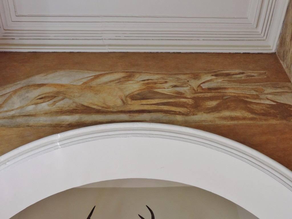 L'affresco di George Washington nella Arlington House