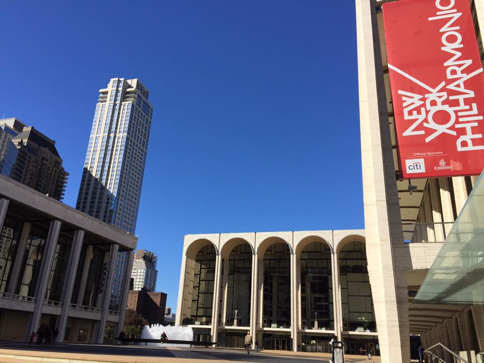 New York on foot: the Lincoln Center