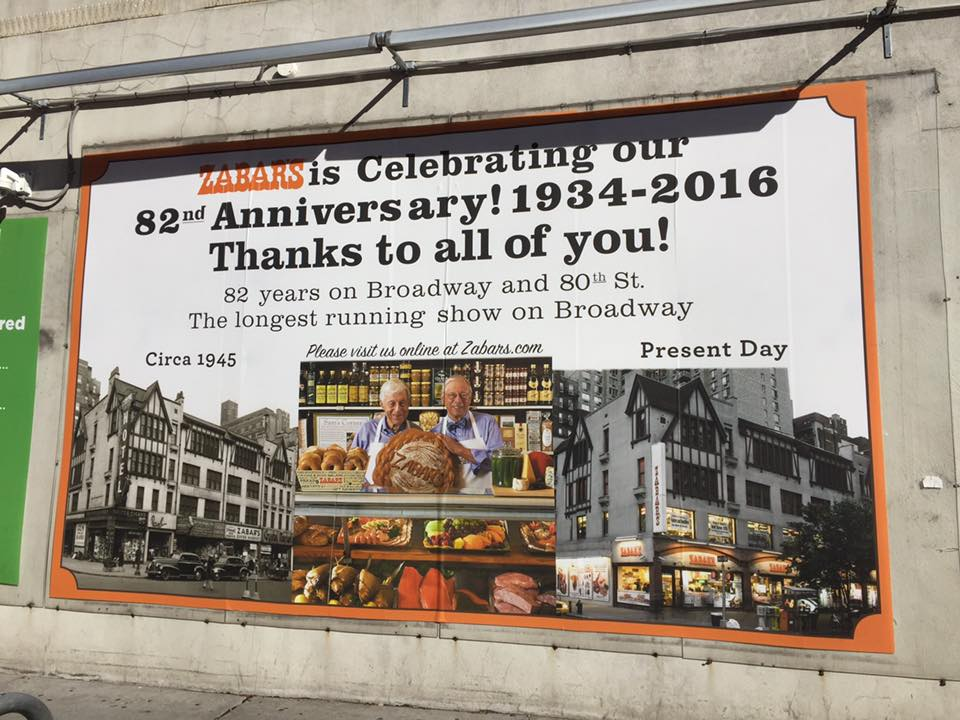 New York on foot: Zabar's, the tradition goes on