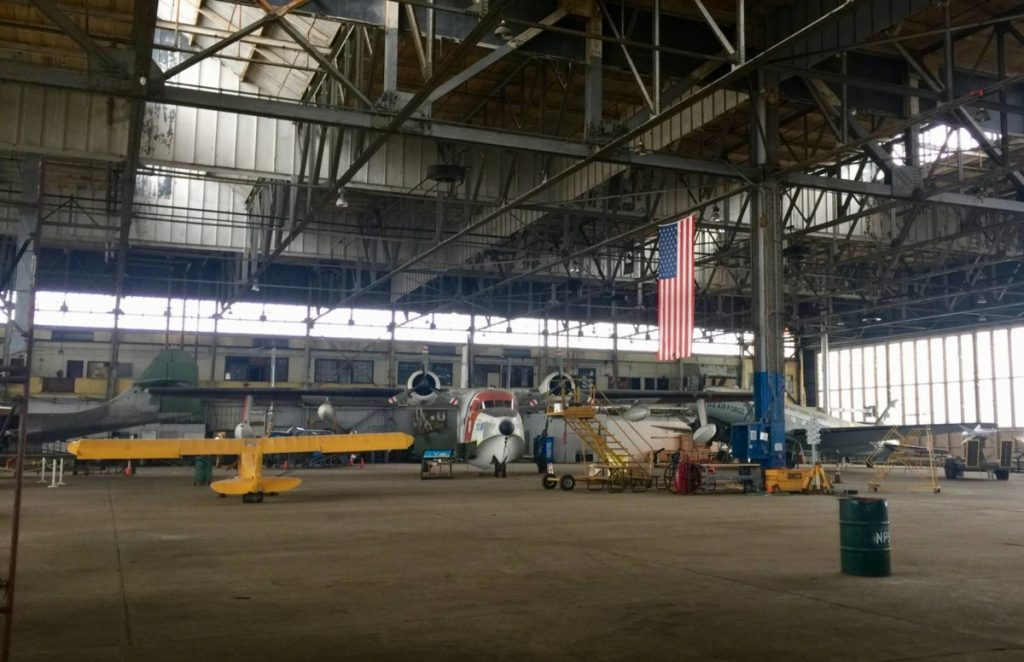 Unusual New York: the inside of the Hangar B