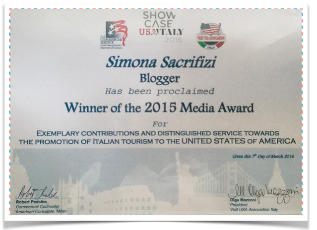 Italian Media Award 2015 for USA